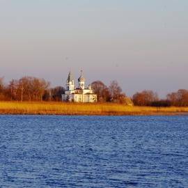Olete jõudnud Eestimaa äärele. Podmotsa külast avaneb Venemaale unikaalne vaade.