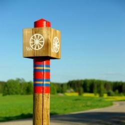 Vaatamisväärsused, majutus-ja toidukohad on Postiteel hästi leitavad sini-punase sümboolika abil